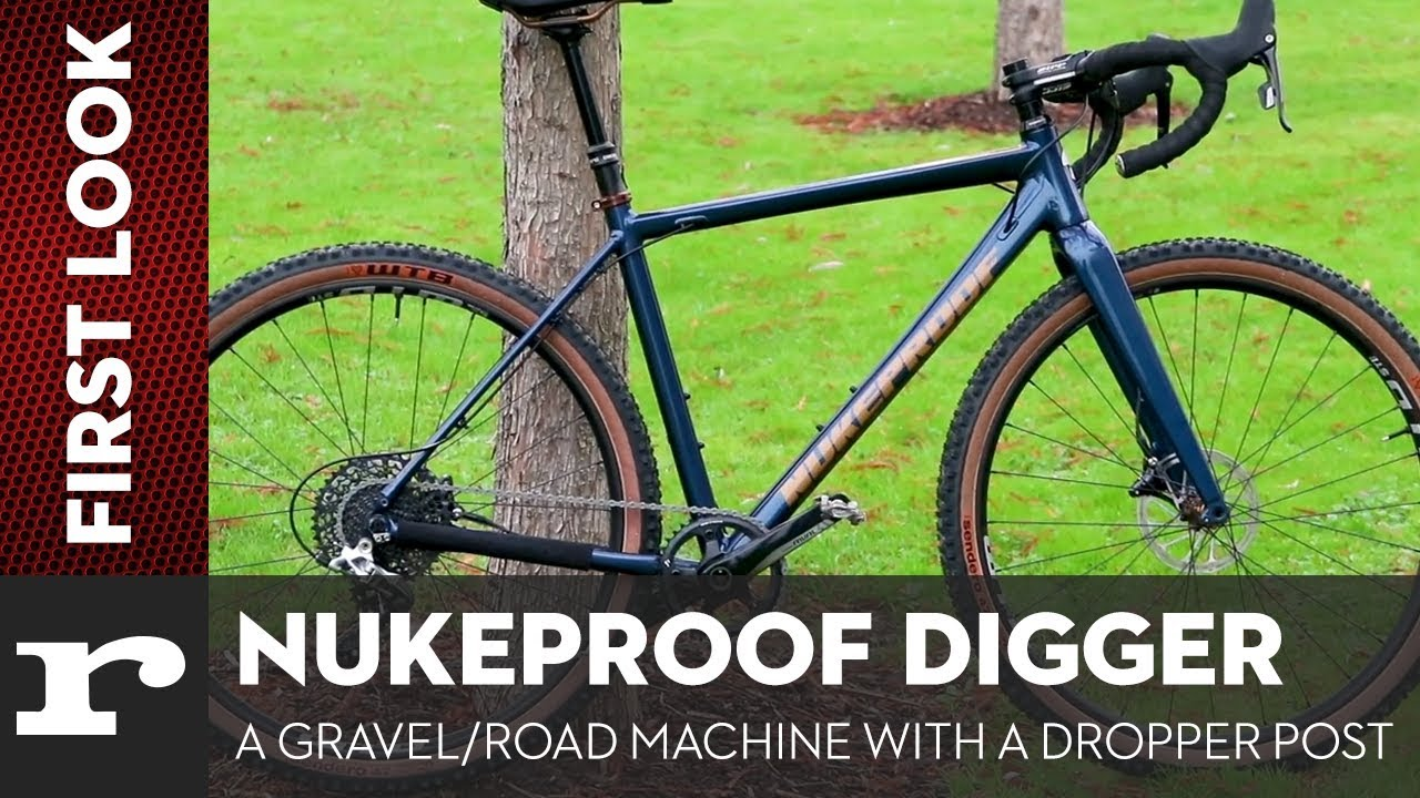 Nukeproof Digger Pro The Most Aggressive Gravel Bike We Ve Ever