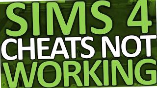 سيمز 4 غش لا يعمل (PC Fix)