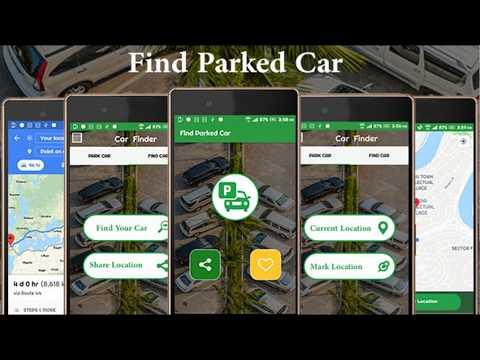 Find My Car Through Gps Car Finderparking Reminder Apps On