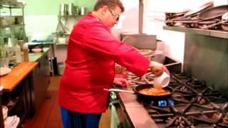 Tommy Salami's Fried Macaroni Frittata
