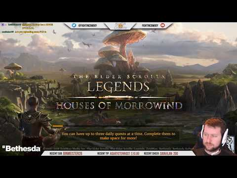 The Elder Scrolls: Legends - Coffee & Cards, Houses Of Morrowind Edition!