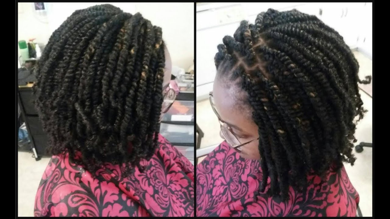 How To Do Nubian Crochet Twist Youtube