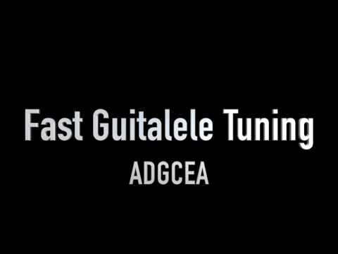 ADGCEA Tuning | Fast Guitalele Tuning
