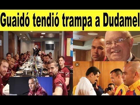 Dudamel renuncia a Vinotinto por trampa de Guaidó