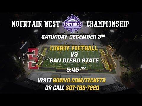War Memorial Stadium Hosts the 2016 Mountain West Football Championship Saturday!