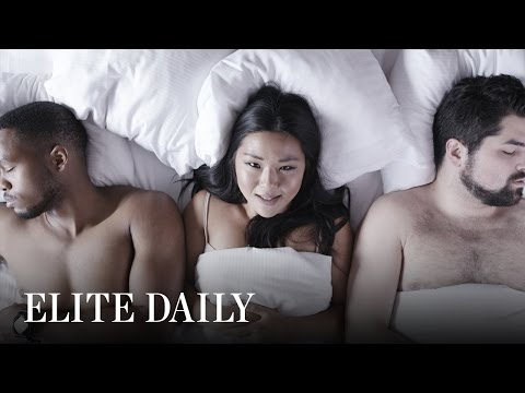 My girlfriend has threesome dreams