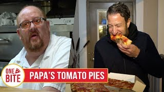 Barstool Pizza Review - Papa's Tomato Pies (Robbinsville, NJ)