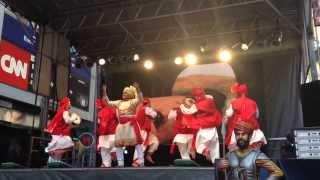 Download Hindi Video Songs - Maharashtrian Powada (पोवाडा) @ Times Square NYC