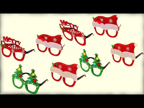 How to make Christmas party glasses