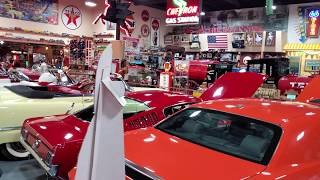 Russells Travel Stop museum look Route 66 Americana & Antiques stop on my vacation & classic cars