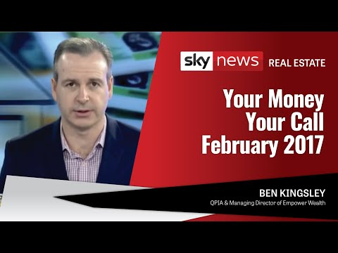 Sky News - Your Money Your Call February 2017 - Ben Kingsley