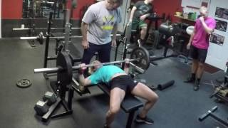 JT reps of 225lbs.
