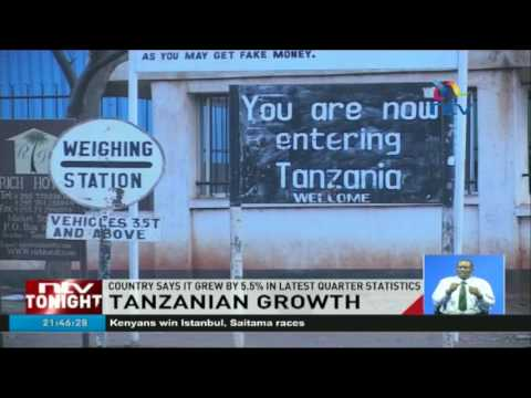 Tanzania records 5.5 percent growth in GDP