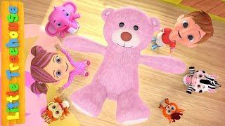 Teddy Bear Turn Around | Kindergarten Nursery Rhymes for Children | Cartoon Song by Little Treehouse