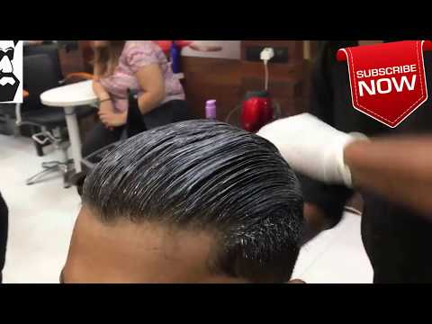 straightening-treatment-on-men's-hair- -men-hair-cut- -review