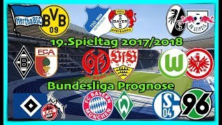 FIFA 18 Bundesliga Prognose 19.Spieltag 2017/2018 Alle Spiele, alle Tore Deutsch (HD)
