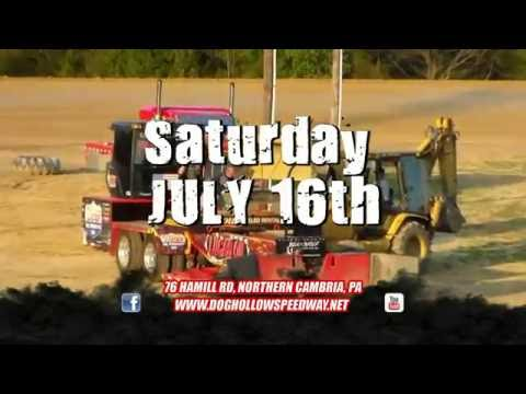 Dog Hollow Speedway - Diesel Mania Truck & Tractor Pull TV Commercial 2016