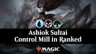 Ashiok Sultai Control Mill in Ranked