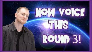 MARK MALZAR NOW VOICE THIS ROUND 3!
