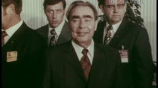 Брежнев. Хельсинки. Подп. Заключительного акта Совещания по безопасности и с-ву в Европе 1.08.1975
