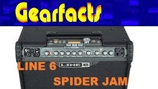 Line 6 Spider Jam guitar amp does EVERYTHING!