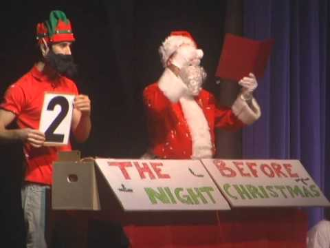 Twas The Night Before Christmas Louisville HS 2012 - YouTube