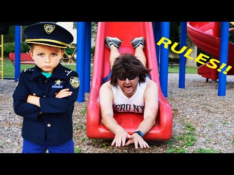 Little Heroes  The Signs, The Rule Breaker and the Kid Cop a YouTube Silly Kids Video
