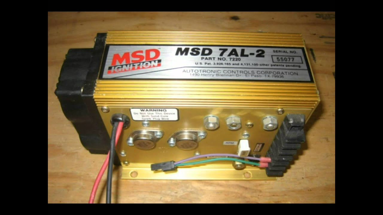 Msd Wiring Book Diagram Schematics Transmission 7al Box Instructions Video Youtube 6al Chevy