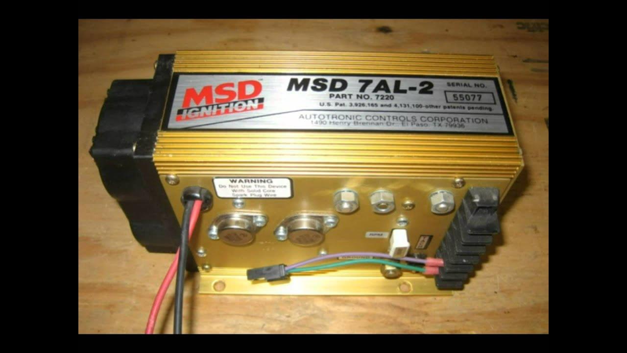 MSD 7AL Box Instructions Video Book  YouTube