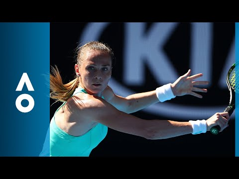 Kateryna Bondarenko v Magdalena Rybarikova match highlights (3R) | Australian Open 2018