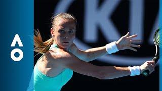 Kateryna Bondarenko v Magdalena Rybarikova match highlights (3R)   Australian Open 2018