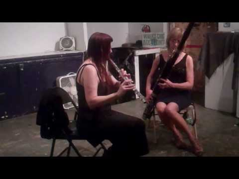 Beyond Duo -CLAIRE DE BRUNNER bassoon CHERYL PYLE flute ABC NO RIO OCT 6 2013