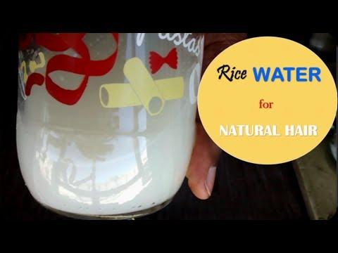 HOW TO: Rice water treatment for hair growth + repairs damage hair|Ladeesnuggz A