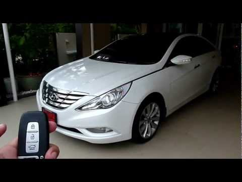 Po 40 Remote Control Auto Side Mirror Hyundai Sonata Sport Youtube