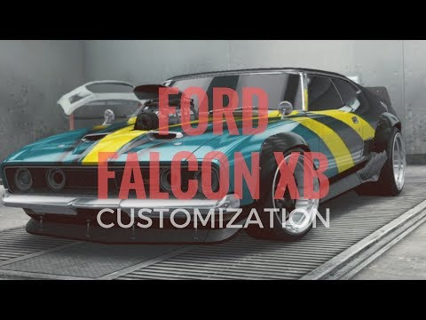 Need for Speed No Limits | Ford Falcon XB | Ford Model 18 | CUSTOMIZATION