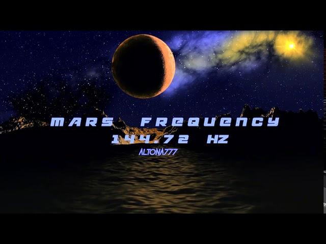Mars Frequency | 144.72 Hz | Strengthen Your Willpower | Awaken Warrior Within | Infinite Potential