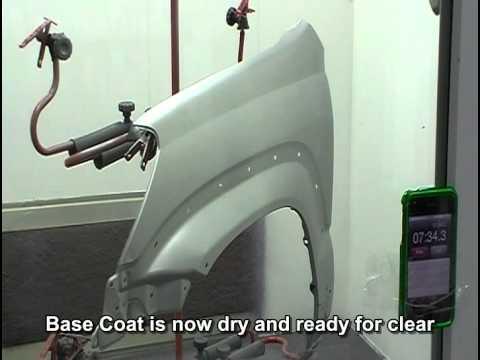 Spraying Dupont Axalta Cromax Pro At Sema 2012 Doovi