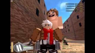 Attack On Titan! Roblox Part 1!