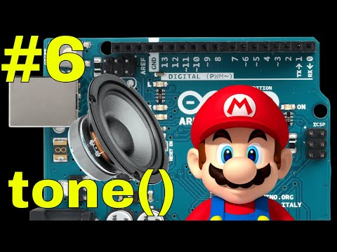Arduino - Play The Super Mario Bros Theme Song And How To Use Tone