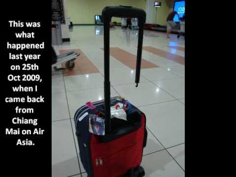 Air Asia Baggage Handling Youtube
