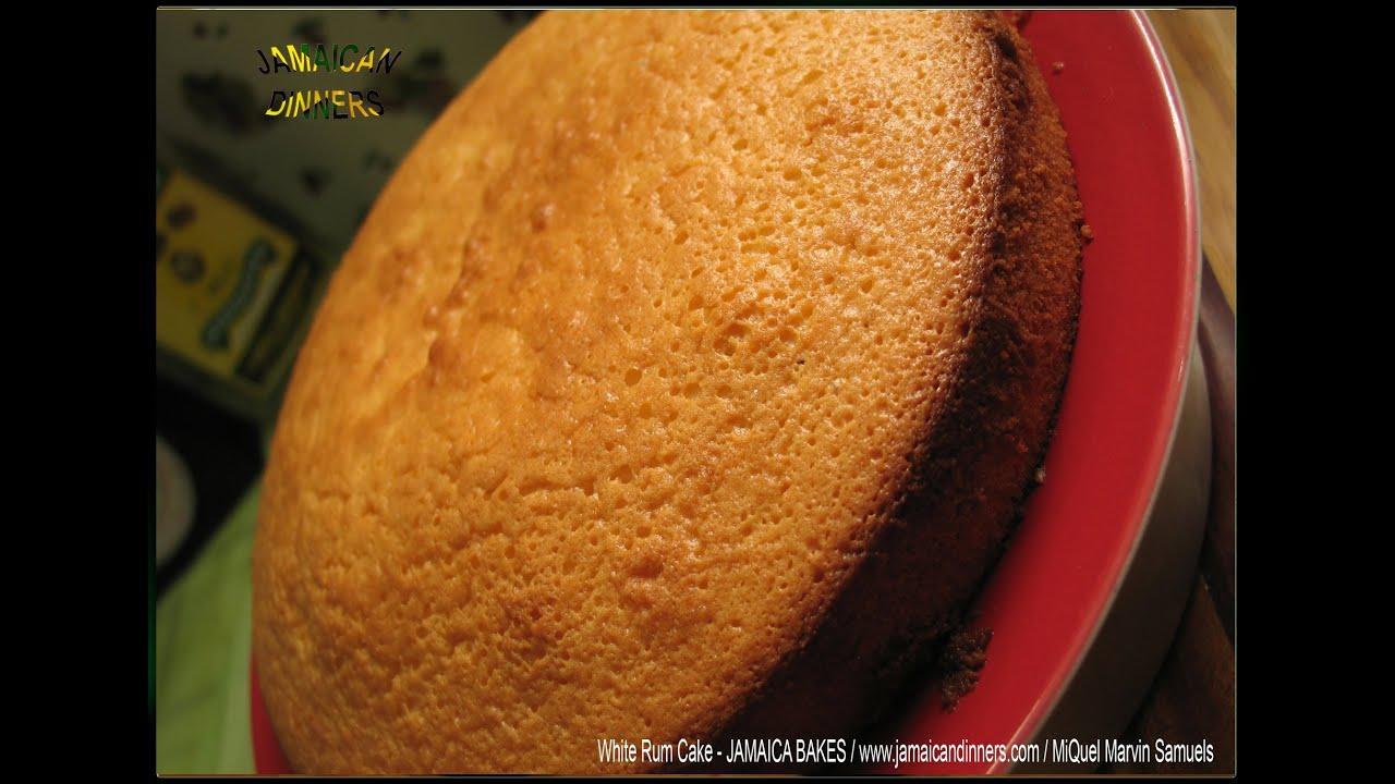 White Overproof Rum Sponge Cake