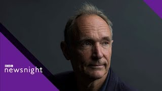 Sir Tim Berners-Lee on the World Wide Web (2005) – Newsnight Archives