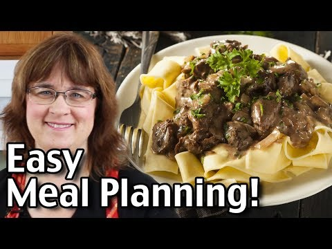 Easy Meal Planning!