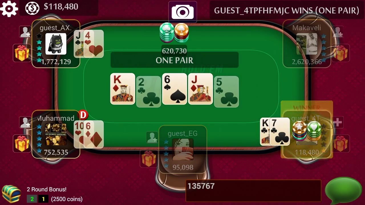 Texas Holdem Play For Free