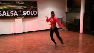 Amy Mills, Australian Salsa Solo Competition 2010