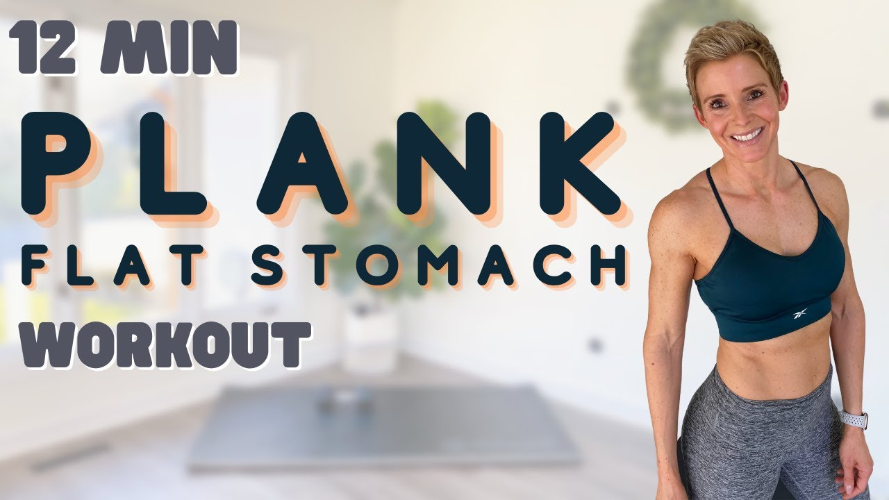 Plank Workout for a Flat Stomach