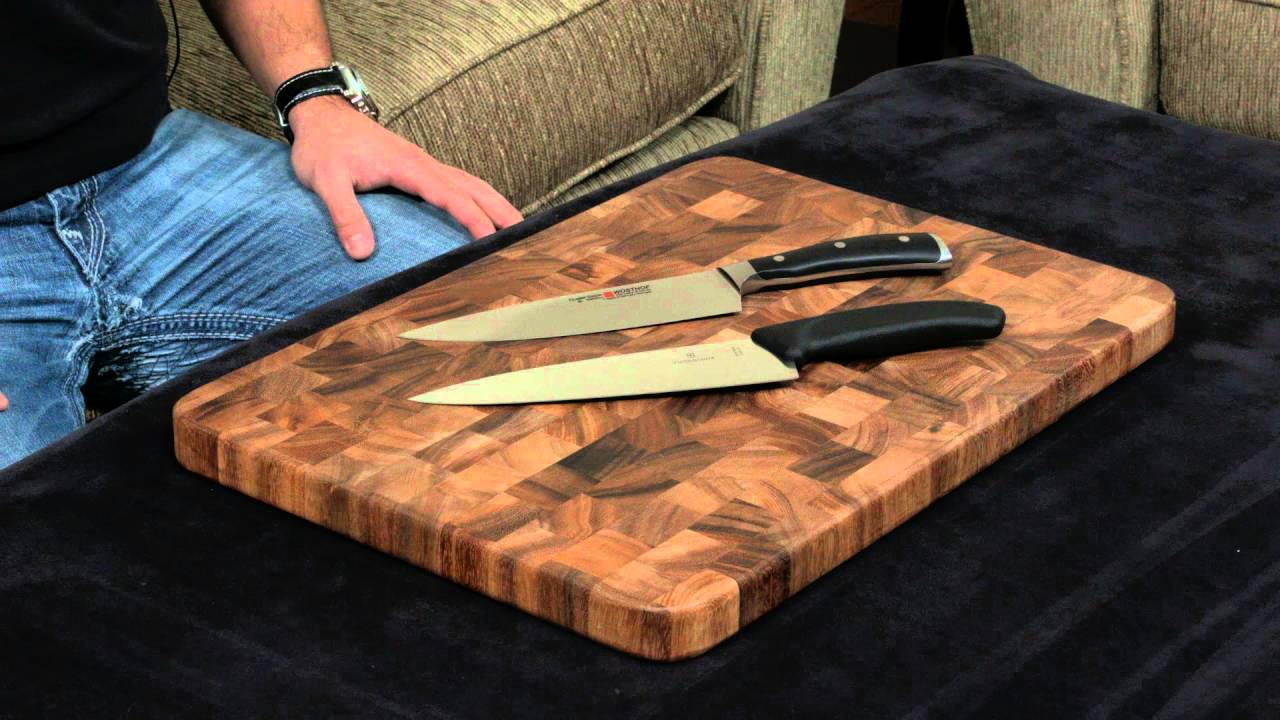 wusthof ikon vs victorinox fibrox chef 39 s knife youtube. Black Bedroom Furniture Sets. Home Design Ideas