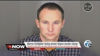 Warren firefighter facing murder, drunk driving charges in death of 17-year-old