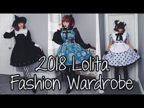 2018 Lolita Fashion Wardrobe ❤ Hello Batty ❤
