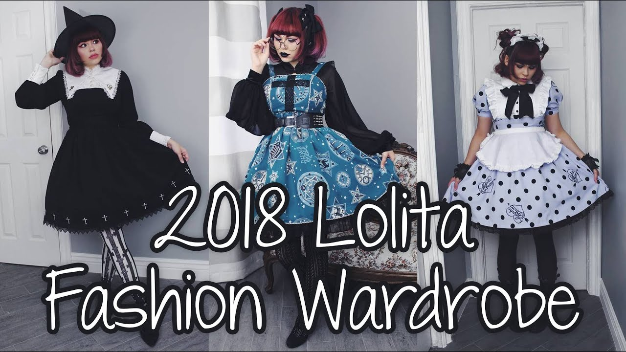 [VIDEO] - 2018 Lolita Fashion Wardrobe ❤ Hello Batty ❤ 3